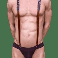 Rubber & Leather Braces 1