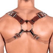 Solid PVC & Clear PVC 8 Style Harness 1